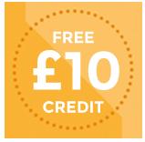 Free 10 credit