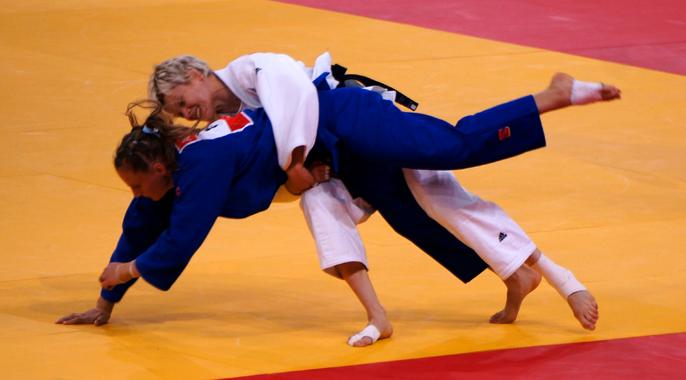 Womens Olympic Judo 2012