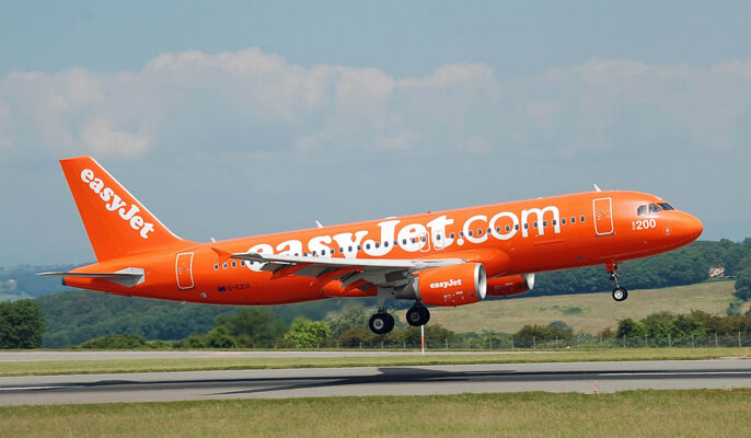 easy jet airplane