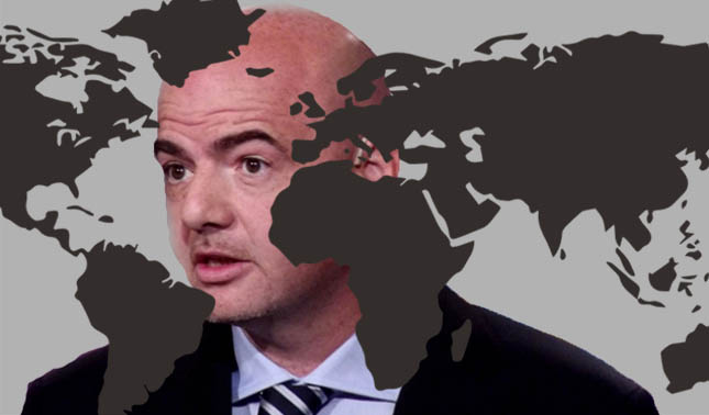FIFA President gianni infantino making changes to world cup