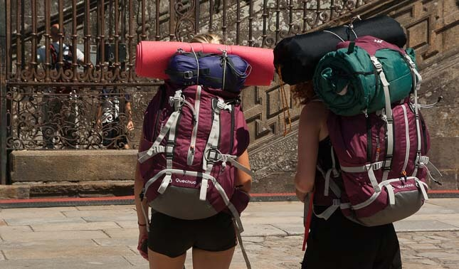 backpackers interrailing
