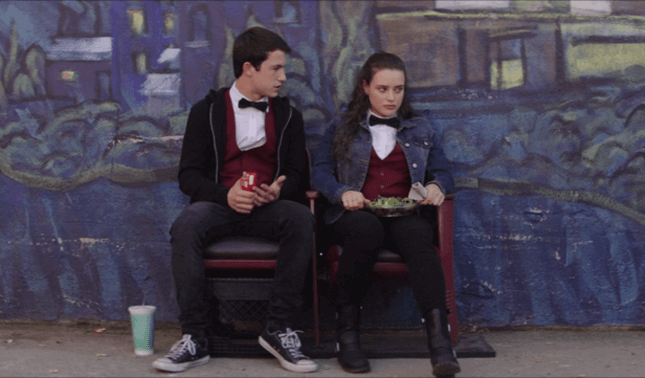 13 reasons why - Clay and Hannah talking