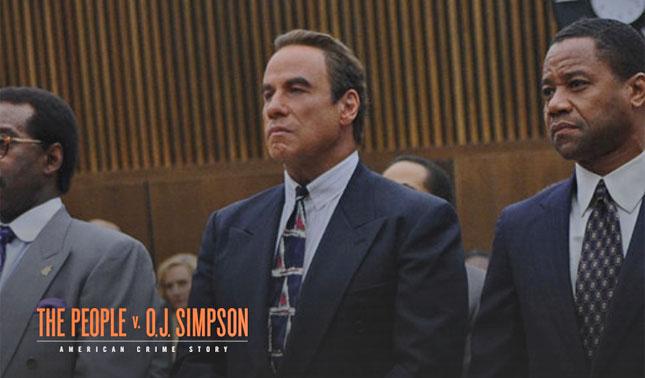 John Travolta in People vs OJ Simpson