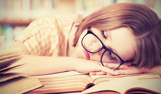 Sleep is one of the most important factors when trying to cope with exam stress