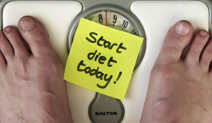 'I'm starting the diet tomorrow' must be one of the most commonly used phrases ever!