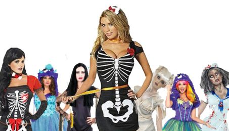 Really? An Anorexia Halloween costume ?