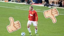 Should Rooney start? thumbs up or down