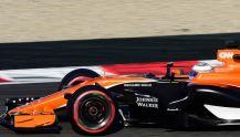 Formula 1 new McLaren MCL32 orange car