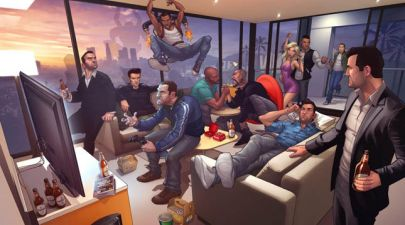 Grand theft auto characters through the ages
