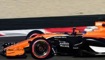 Formula 1 new McLaren MCL32 orange car