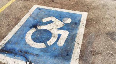 disabled parking