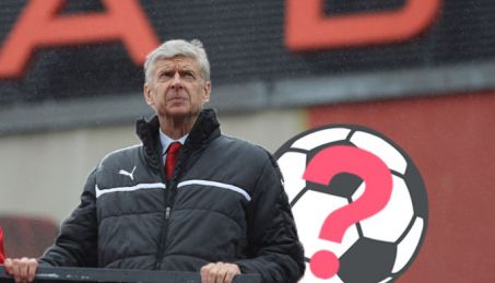 arsene wenger england manager confused