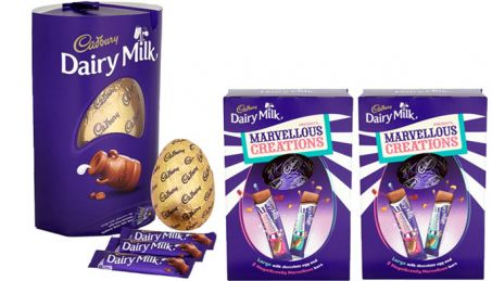 3 large Cadbury Easter eggs up for grabs by members of the community who entered the competition