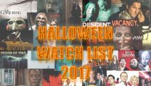Halloween scary film watch list 2017