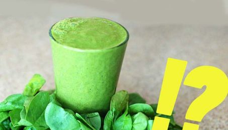 clean eating green smoothie