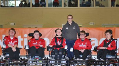 Powerchair football team